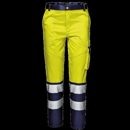 Warnschutz-Bundhose Velvet Color Klasse 2