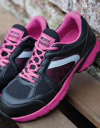 Damensicherheitsschuh S1P SRC pink/black