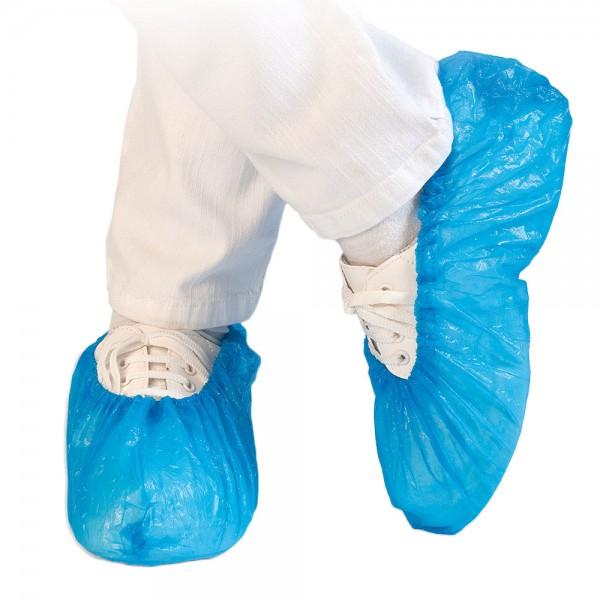 Überschuh blau wasserdicht und strapazierfähig 100 Stück