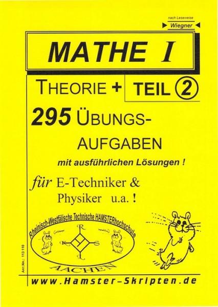 SERIE C - für E-Techniker, Physiker Mathe I, Teil 2