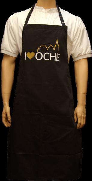 """I LOVE OCHE"" - Schürze"
