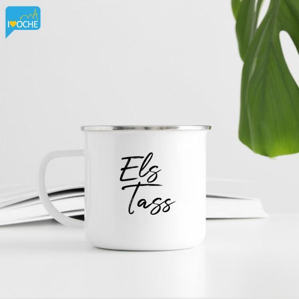 """""""ELS Tass"""" - XL Emailletasse 450ml"""