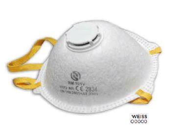 FFP2 Cup-Maske mit Ausatemventil 10er Box