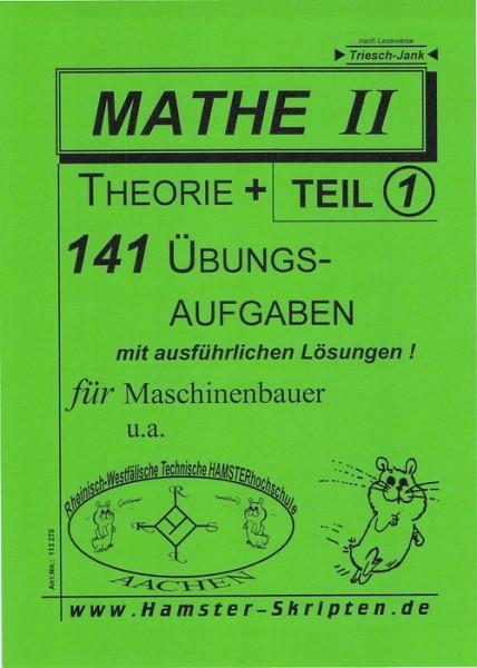 SERIE B - Maschinenbauer Mathe II, Teil 1