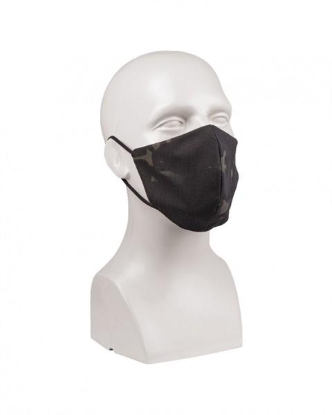Mund / Nasenmaske Multitarn/Black V-SHAPE