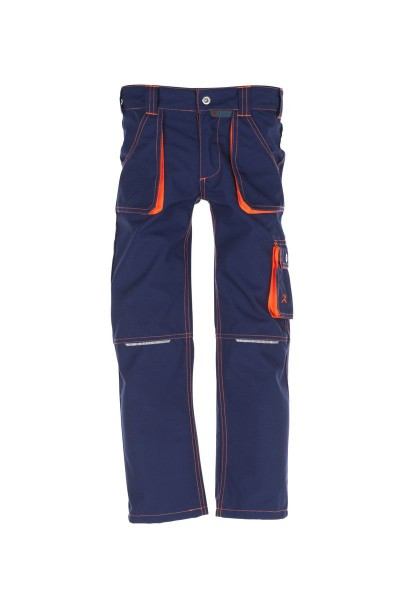 Kinder Bundhose marine/orange