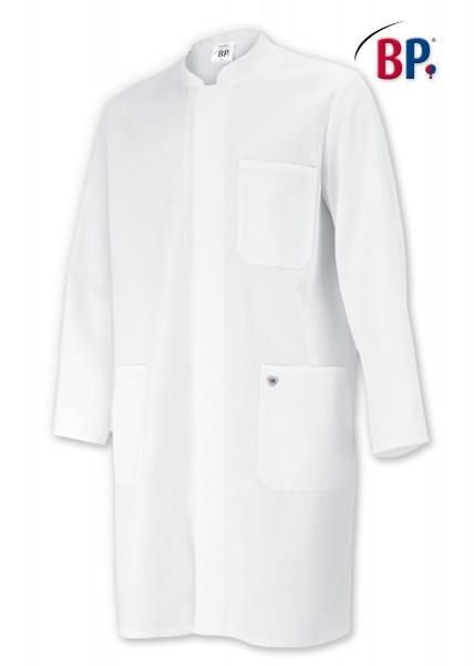 Mantel 1654 für Sie & Ihn weiss Stehkragen, 100% Baumwolle
