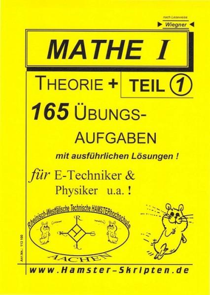 SERIE C - für E-Techniker, Physiker Mathe I, Teil 1