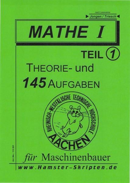 SERIE B - Maschinenbauer Mathe I, Teil 1