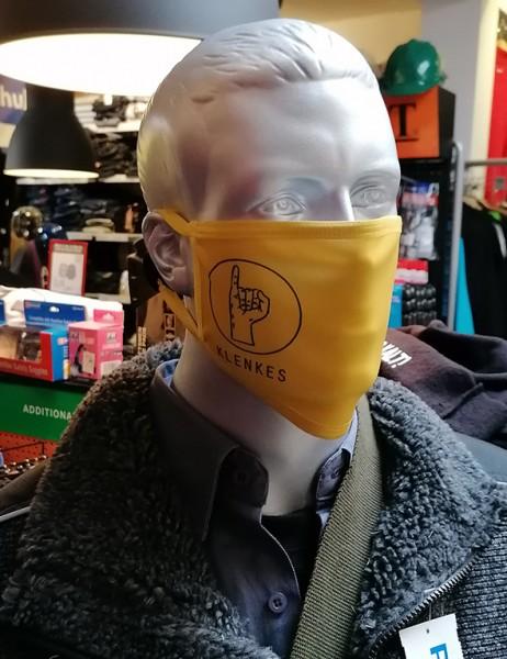 "Behelfsmaske ""Klenkes"" Subli mit Gummizug"