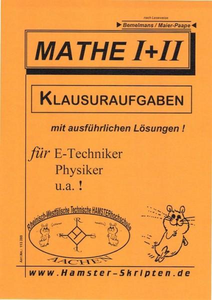 SERIE A - für E-Techniker, Physiker Mathe I + II Klausuren