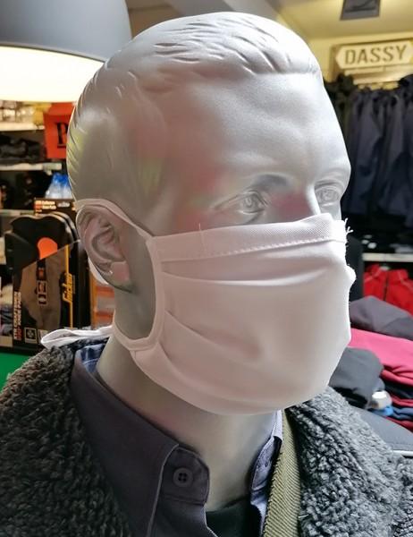 Mund-Nasen-Maske Einheitsgröße weiß 10er Set