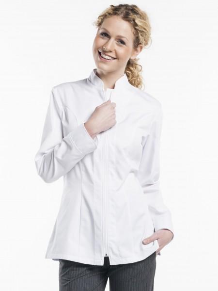 Damen Kochjacke Monza weiß