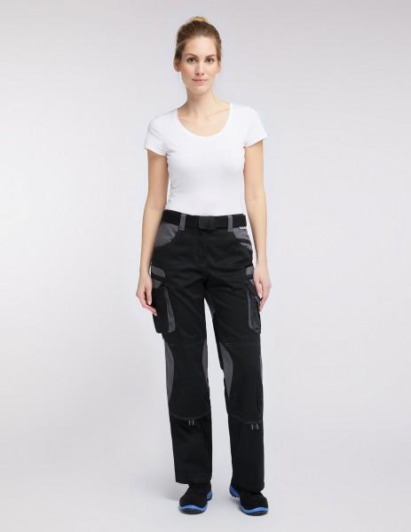 Damen Bundhose, Arbeitshose Tools schwarz/grau
