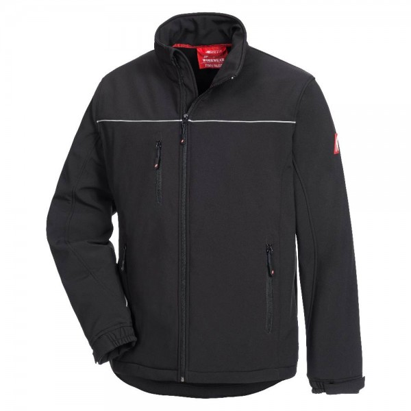 Softshelljacke Motion Tex light, Farbe schwarz