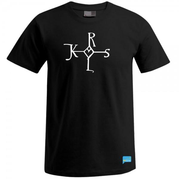 """""""CAROLUS"""" - schwarzes Herren T-Shirt"""