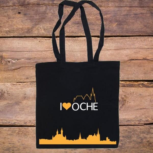 """""""I LOVE OCHE"""" - Baumwolltasche"""