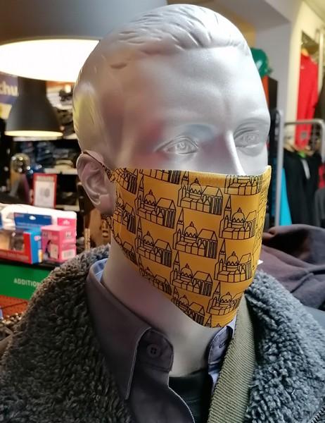 """Behelfsmaske """"Öcher Dom"""" mit Gummizug"""