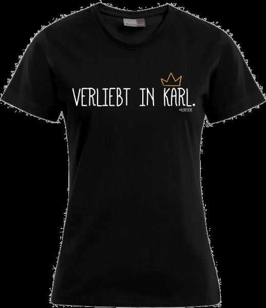 """""""VERLIEBT IN KARL"""" - Damenshirt"""
