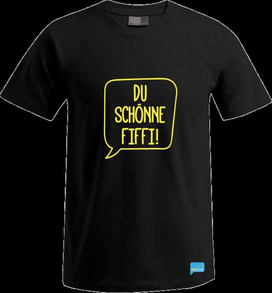 """""""DU SCHÖNNE FIFFI"""" Sprechblase - T-Shirt"""