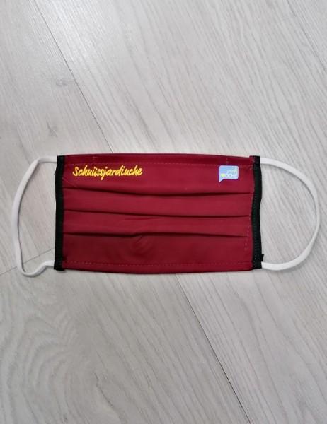 """Bordeaux Behelfsmaske """"Schnüssjardinche"""""""