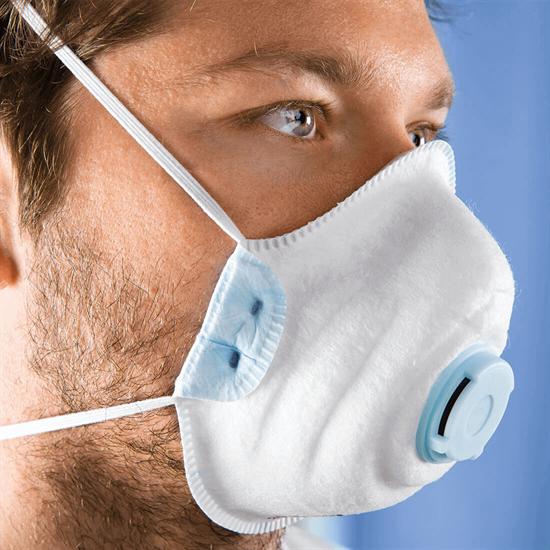 FFP2 10er Box Einweg-Atemschutzmaske mit Ausatmungsventil