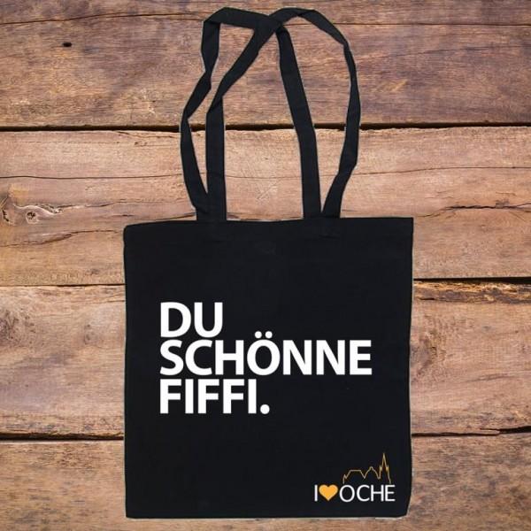"""""""DU SCHÖNNE FIFFI"""" - Baumwolltasche"""